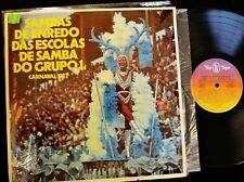 Sambas De Endredo Das Escolas De Samba Do Grupo Top Tape 050 Carnaval 1977