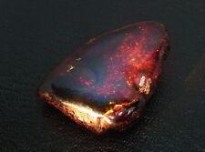 blauer Bernstein 55,15 ct  blue / purple Amber  Mexiko  koxgems