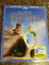 Disney Tinkerbell and Legend of the Neverbeast (Blu-Ray/DVD/Digital) Slip Cover
