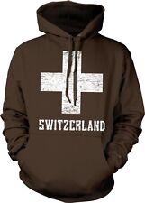 Switzerland White Cross Swiss die Schweiz Suisse Svizzera Svizra Hoodie Pullover