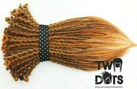 Ginger & Orange Synthetic Dread Extensions, Ginger, 20 Inches, SE or DE Dreads