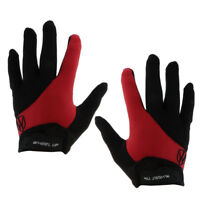Gants de vélo anti-dérapant vélo écran tactile protection de long doigt