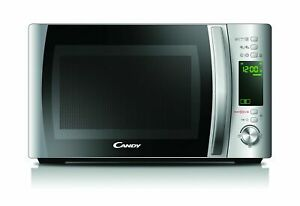 BNIB Candy CMXG20DS Microwave Oven with Grill. Silver 700w Countertop 20L
