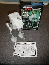 STAR WARS Scout Walker Vehicle FRENCH INPORT Rare Boxed Complete