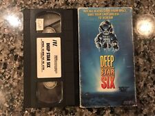 Deep Star Six Vhs! 1989 Horror! See Also Lords Of The Deep Leviathan The Abyss