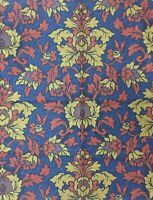 RARE   Vintage (1993)  SANDERSON  Fabric large  Remnant     William Morris Style