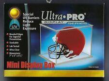 Ultra Pro Football &  Baseball Mini Helmet Holders Display Case UV SAFE