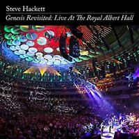 STEVE HACKETT - GENESIS REVISITED: LIVE AT THE ROYAL ALBERT HALL 2 CD + DVD NEW+