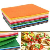 Felt Fabric Sheets Diy Sewing Crafting Scrapbooking Sheet Craft Soft Wool Blend