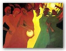 AFRICAN AMERICAN ART Spiritual Climax Limited Edition Bernard Stanley Hoyes