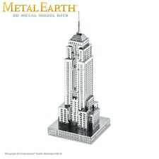 Fascinations Metal Earth Empire State Building Laser Cut 3D Model Kit