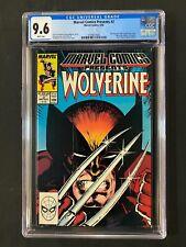 Marvel Comics Presents #2 CGC 9.6 (1988) - Wolverine cover