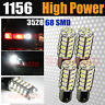 4X 6000K Super White 1156 BA15S RV Trailer Interior 12V LED Lights Bulbs 68 SMD