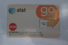 At&T Oem Standard go sim card - New Unactivated