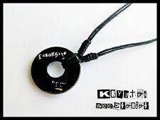 Collar Ajustable Unisex Eskorbuto Anti Todo Colgante Música Punk Rock Hardcore
