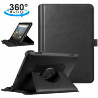 360 Degree Rotating Swivel Stand Cover Case for Amazon Fire HD 8/ HD8 Plus 2020