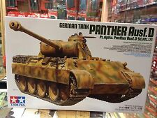 KIT MAQUETA GERMAN TANK PANTHER AUSF.D 1:35 TAMIYA 35345