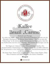 "Brazil ""Carmo"" Kaffee 1kg"