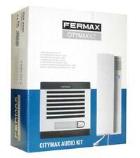KIT PORTERO AUTOMÁTICO FERMAX 6201 CITYMAX 1 LÍNEA AG. 230V. TELÉFONO BLANCO.
