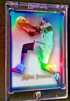 ALLEN IVERSON FLAIR SHOWCASE 26 RAINBOW REFRACTOR BEAUTY 76ERS