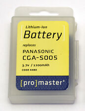 PROMASTER #4480 Lithium ion Li-on replacement battery for PANASONIC CGA-S005