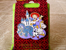 Disney * Toy Story - Jesse Rosie Buttercup & Castle * New on Card Trading Pin