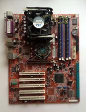 Abit IS7 Motherboard with Pentium 4 3GHz HT CPU and 2GB RAM - Test OK!