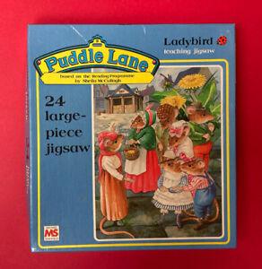 PUDDLE LANE JIGSAW * 24 LARGE PIECES * VINTAGE 1980s * COMPLETE * RARE