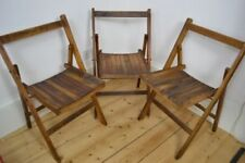 Wooden Art Deco Antique Chairs