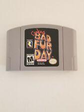 Conker's Bad Fur Day N64 (Original! 100% Genuine) - Clean, Tested Working