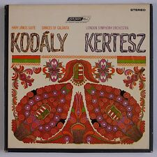 KODALY: Hary Janos Suite KERTESZ London FFrr REEL TO REEL Tape Blue Stereo