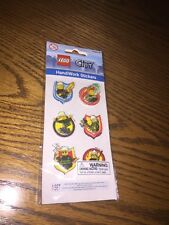 LEGO ~City 3D HANDIWORK STICKERS ~ Blip Toys ~2010