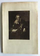 REMBRANDT Gravure Originale XIXème Le GEOMETRE (1656) (musee de  Cassel)