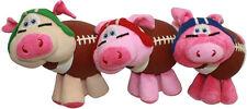 "Multipet Pig Skins 8"" Plush Dog Toys Colors Vary"