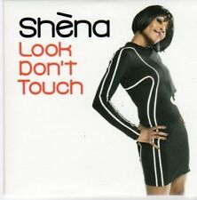 (BG246) Shena, Look Don't Touch - 2010 DJ CD