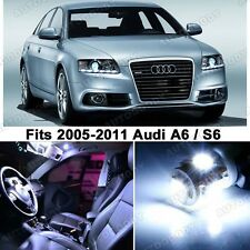 16 x Premium Xenon White LED Lights Interior Package Upgrade for Audi A6