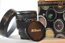 Nikon AF D Nikkor 24-120mm 3.5-5.6 IF lens FX HB-11 for F100 D610 D750 DF D810