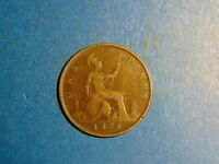 Great Britain Penny KM# 755 1878  A720   I COMBINE SHIPPING