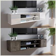 TV Schrank Lowboard Fernsehtisch Spanplatte Hängeboard Fernsehschrank 140 cm