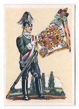 34/340 SAMMELBILD STANDARTE DES LEIB DRAGONER REGTS. 2. GROßH. HESS. No. 24