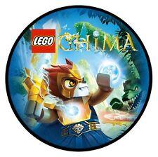 Torte AUFLEGER LEGO Leggende di Chima foto TORTA immangiabile DVD NUOVO TORTE DECORAZIONE immagine