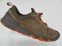 MERRELL Terra Turf Brown Sz 11.5 Men Lace-Up Shoes Hiking Low