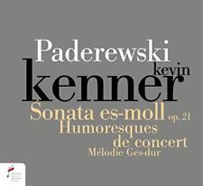 Kevin Kenner - Paderewski. Sonata In E Flat Minor Op. 21, Humersques De Con [CD]