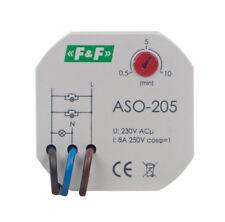 F&f aso-205 tromba delle scale SPORTELLO Automatico Luce Scale tempo INTERRUTTORE tastatore STAIRCASE TIMER