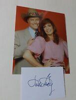 Linda Gray 'Dallas-JR Ewing' signed - COA