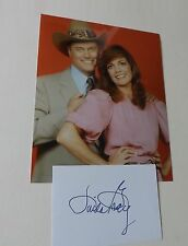 Linda Gray 'Dallas-JR Ewing' signed - COA