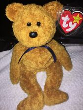 "*RARE: LIMITED EDITION* 1998 TY ""Fuzz"" Original Beanie Baby Bear Multiple Errors"