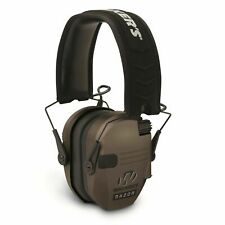 Walkers Game Ear WGE-GWP-RSEM-FDE Razor Slim Shooter Folding Ear Muff Dark Earth