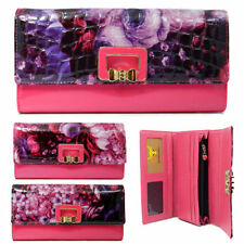 Unbranded Floral Trifold Wallets for Women