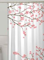 Zenna Home Cherry Blossoms Fabric Shower Curtain One Size